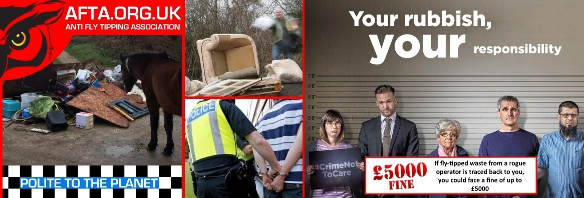 AFTA.ORG.UK Anti Fly Tipping Association™