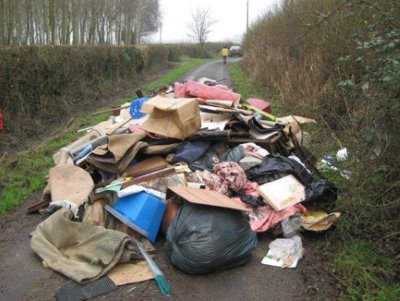 Man Amp Van Fly Tippers Get Six Months In Jail Anti Fly