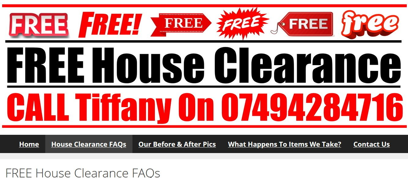 The FREE House Clearance Company – AFTA Verified Member